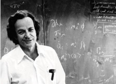 Richard P. Feynman, l'un des pionniers de l'ordinateur quantique.