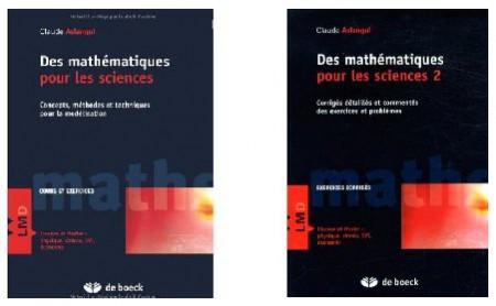 Les deux tomes de Mathématiques appliquées (cours et corrigés des problèmes)