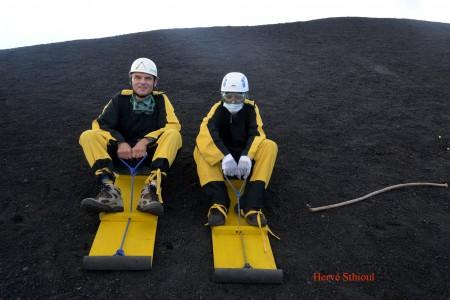 Jacques-Marie et Charles (Cerro Negro, Nicaragua)