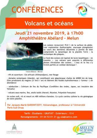 Conférence « Volcans et océans » à Melun, par Jacques-Marie Bardintzeff - Futura-Sciences