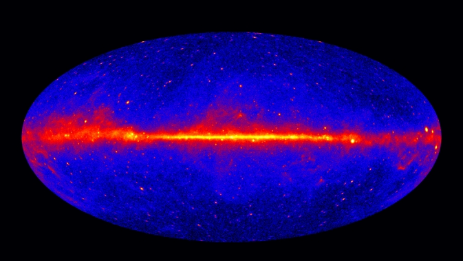 "Le ciel ""gamma"" mesuré par Fermi"