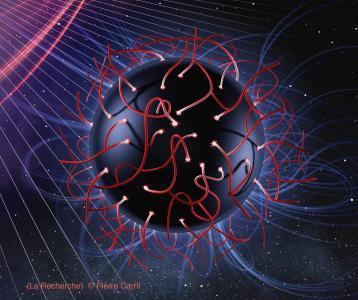 Trou noir en gravité quantique (La Recherche)