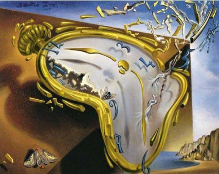 "The celebrated ""smooth watches"" by Salvador Dali are a nice metaphor of time elasticity predicted by Einstein's relativity theory."