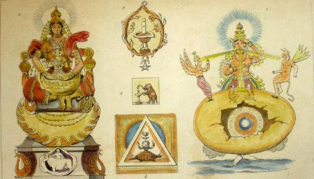 Birth of Gods and Cosmic Egg according to the Upanishad