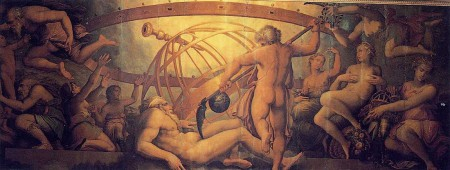 Giorgio Vasari: The Mutilation of Uranus by Saturn
