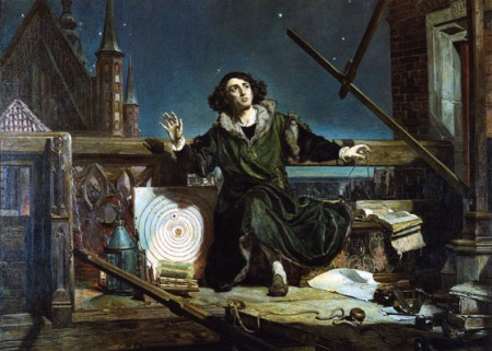 A romantic depiction of Copernicus