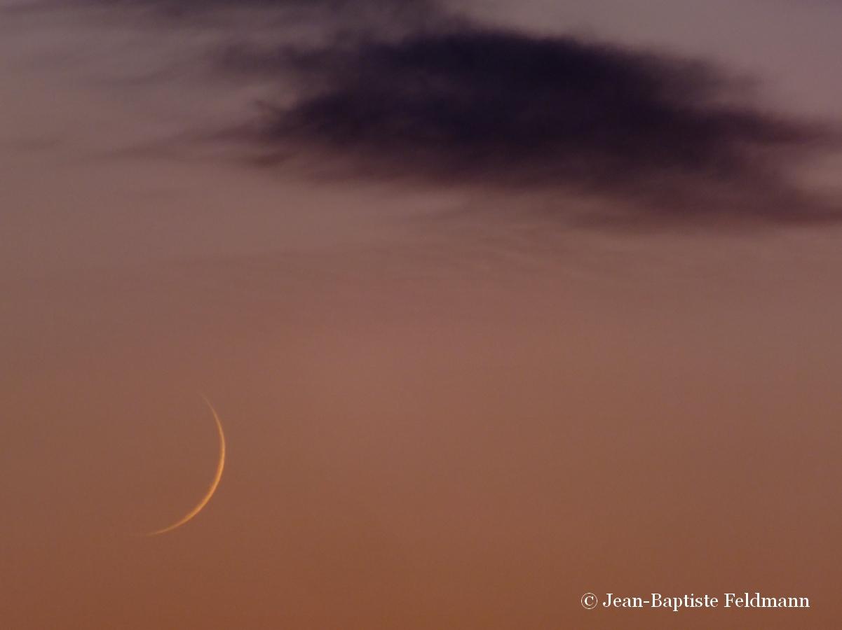 Jeune lune - A quelle heure se couche le soleil ce soir ...