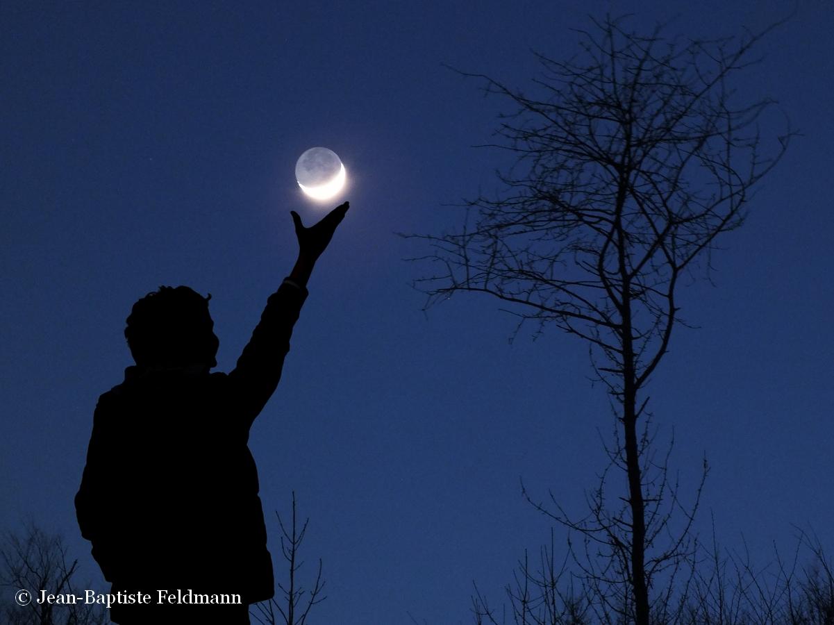La Lune si proche