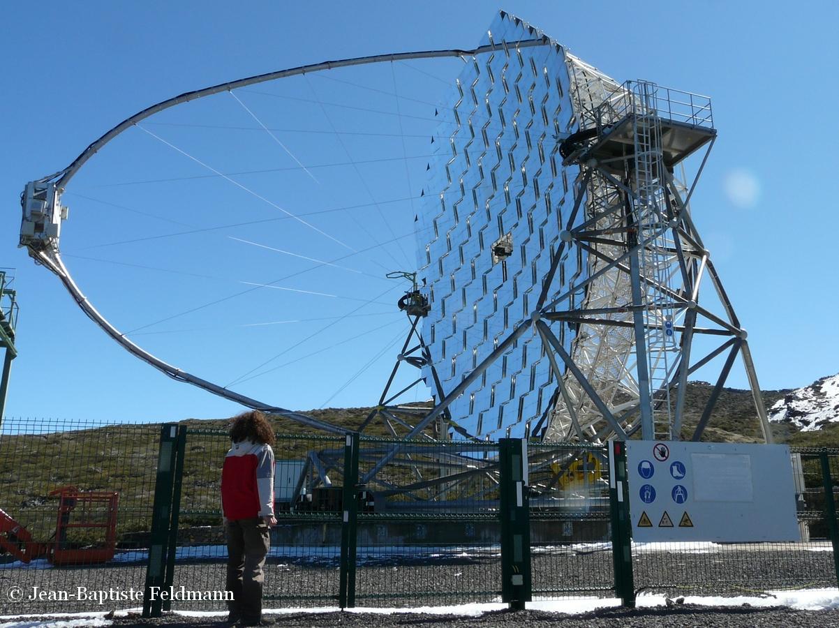 Rayon gamma par jean baptiste feldmann for Polissage miroir telescope