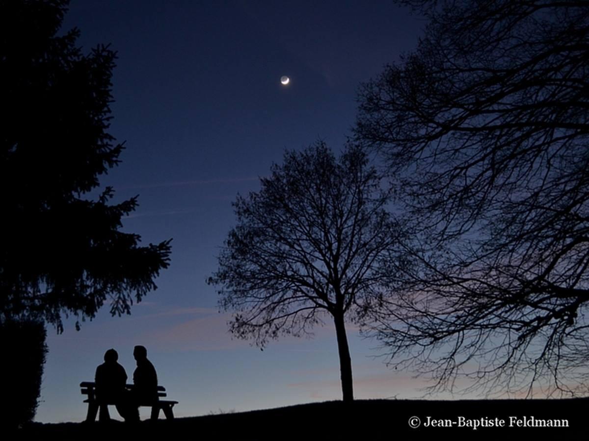 Nouvelle lune par jean baptiste feldmann - Heure de lever et coucher de la lune ...