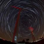 Des étoiles et des éoliennes dans l'Aube