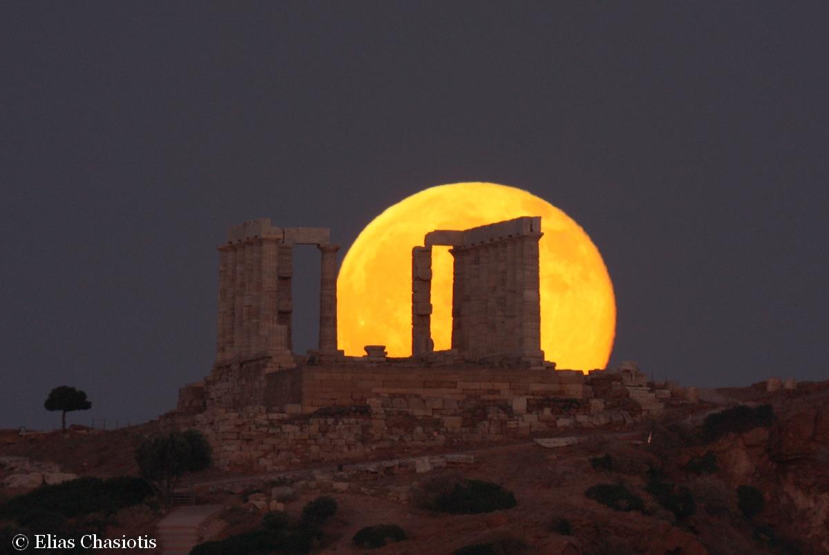 Pourquoi la lune nous semble t elle plus grosse l 39 horizon - Date lune rousse 2017 ...
