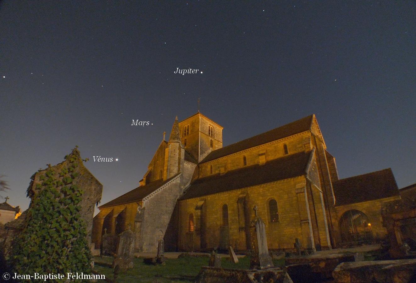 Essayons de comprendre pourquoi ces astres circulent dans la même bande de ciel, appelée plan de l'écliptique, une situation à l'origine des rencontres.