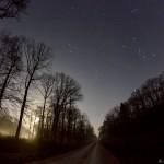 Orion depuis la forêt de Cîteaux