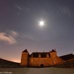 Orion et le château du Clos de Vougeot