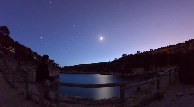 Clair de Lune dans la calanque de Port-Miou