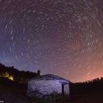 Une cabotte sous les étoiles