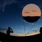 Le rendez-vous Vénus-Jupiter a tenu ses promesses