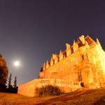 Soirée sous la Lune et deux planètes au château de Brochon