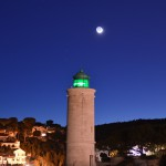 Clair de Lune au crépuscule sur le phare de Cassis