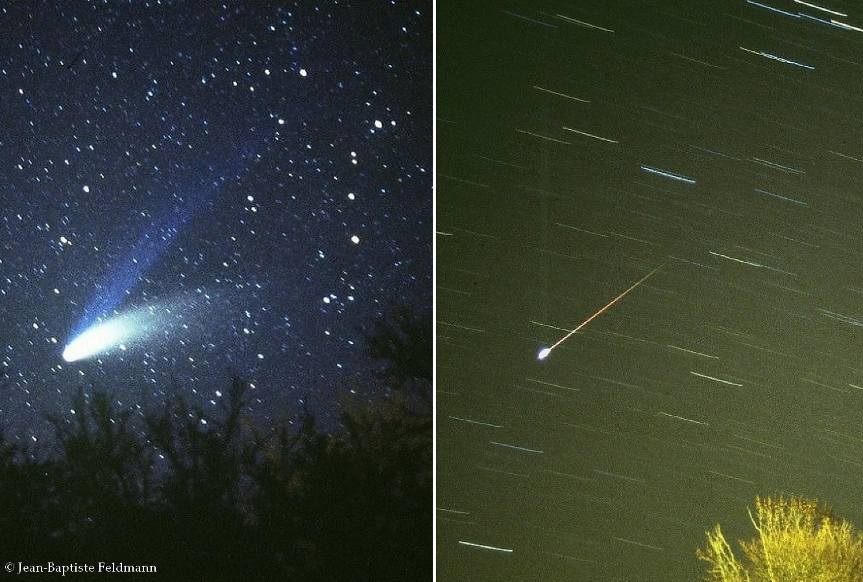 Quelles Différences Entre Une Comète Et Une étoile Filante
