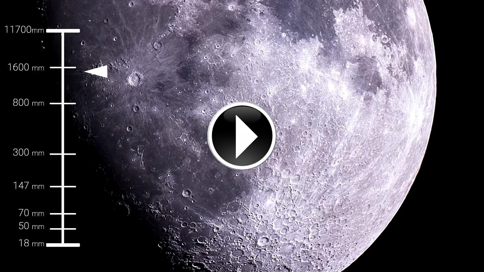 En vidéo : zoom géant pour découvrir la surface de la Lune