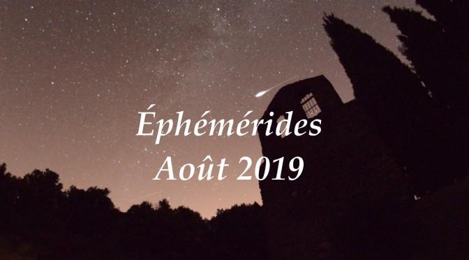 Que Voir Dans Le Ciel Nocturne Au Mois Daoût 2019