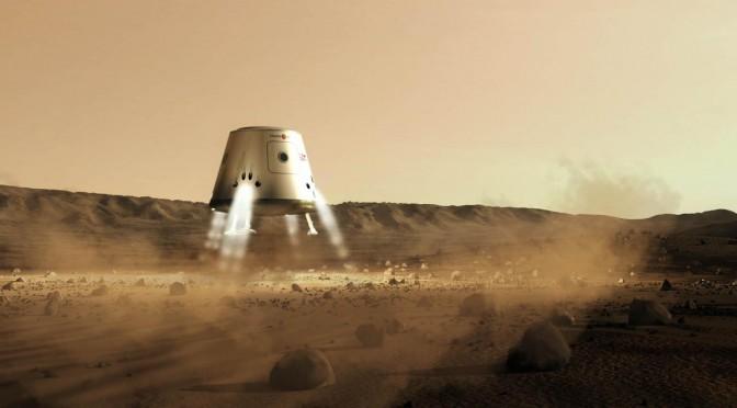 Vue d'artiste du projet Mars One