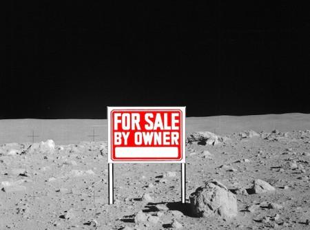 La vente de terrains lunaires est une supercherie perpétuée depuis les années soixante.
