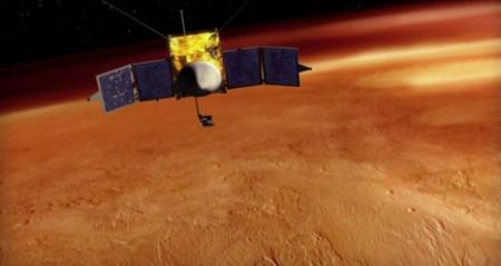 La sonde américaine MAVEN étudiera l'atmosphère martienne
