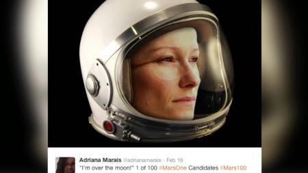 Adriana Marais, 31 ans ,finaliste d'Afrique du Sud, biologiste.