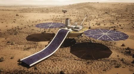 La sonde de Mars One devait être lancée en 2018. (crédit: Mars One artist concept)