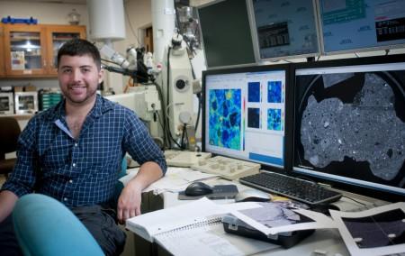 Zachary Gallegos (USA), 27 ans, finaliste. Etudiant en planétologie (crédit: journal of Albuquerque)