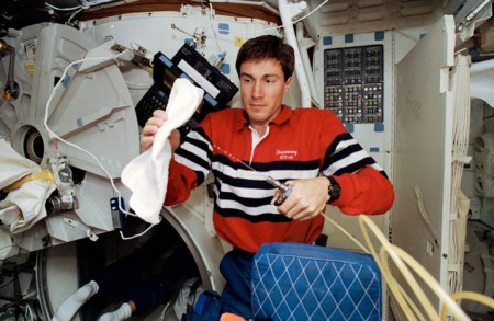 Sergei Krikalev a passé plus de deux ans dans l'espace sans avoir perdu ni motivation ni concentration...