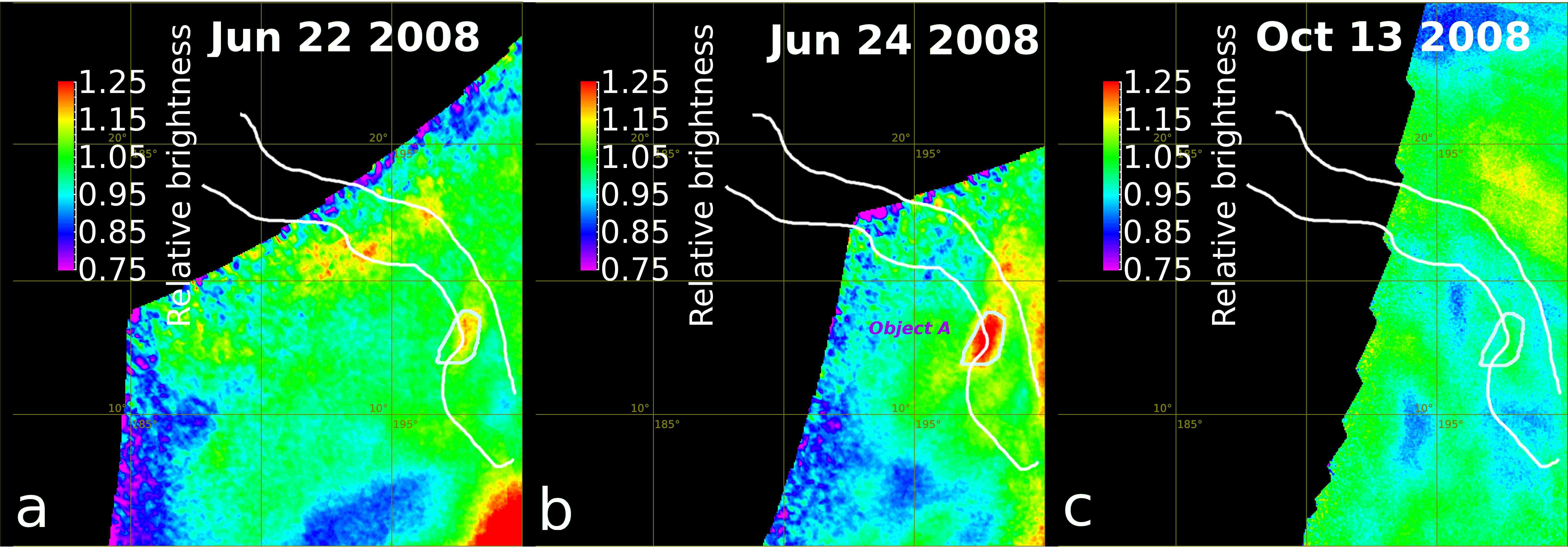 Ganiki Chasma IR map