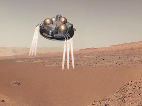 La sonde Schiaparelli aurait dû se poser en douceur sur Mars, mais silence radio...