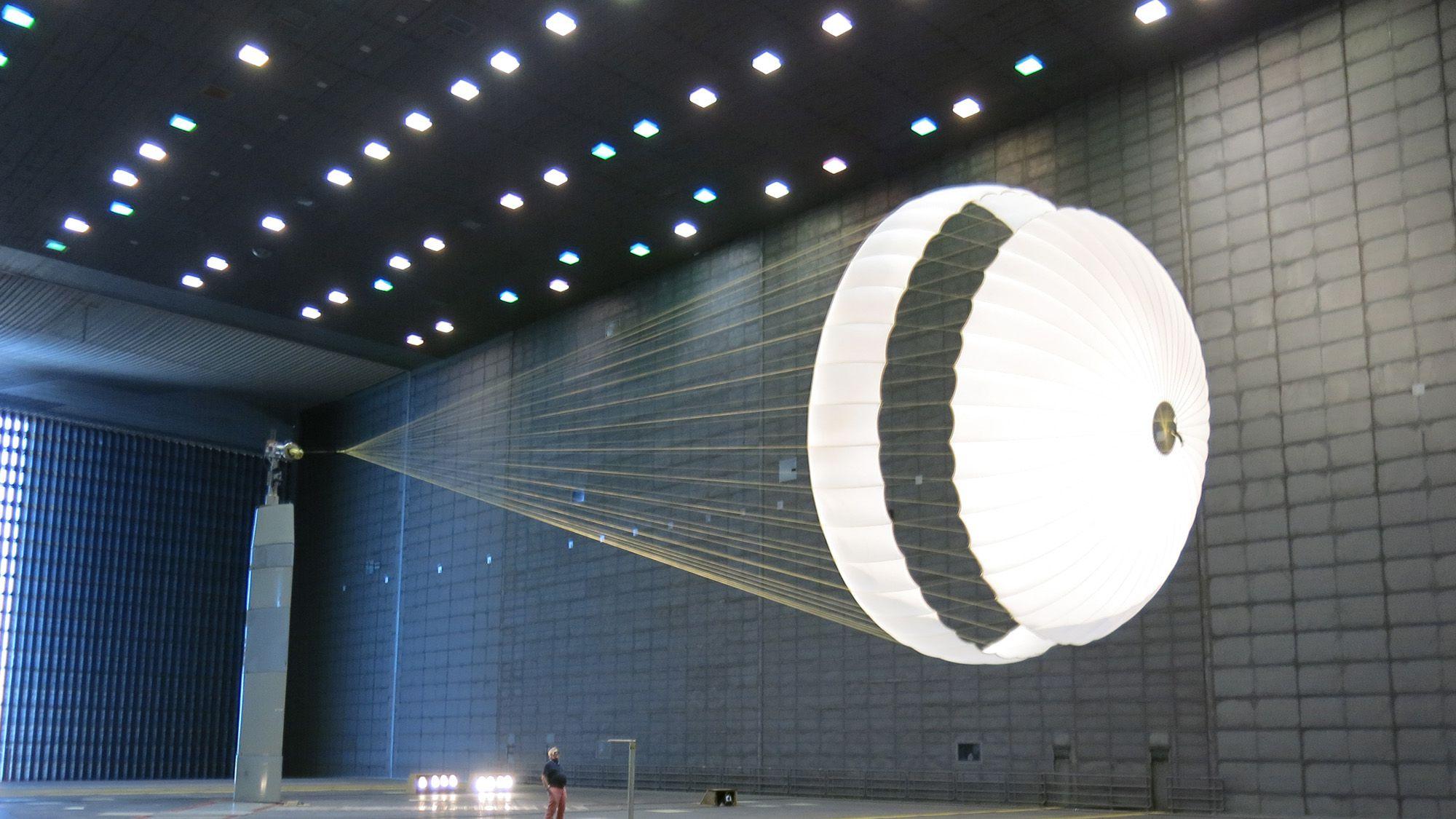 Test du parachute de Schiaparelli: il reste du travail à faire