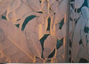 Construit vers l'an 2000, il marque bien le début de la nouvelle sacralisation du végétal symbole de l'île.