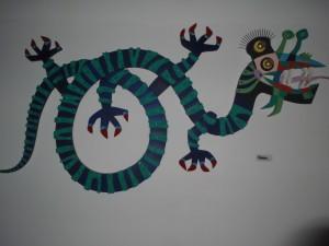 Selon l'artiste César Manrique, le lézard géant d'El Hierro.