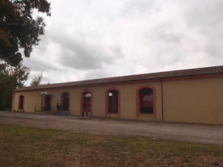 Le minerai de plomb de Montevecchio était acheminé par une voie métrique privée jusqu'à cette gare de San Gavino Monreale. De là, il était transbordé vers le réseau ferré de l'Etat italien vers le port de Cagliari puis, depuis les années 1930 jusqu'en 1992, traité dans la fonderie tout proche. Cette gare est aujourd'hui transformée en un musée. © A. Gioda, IRD.
