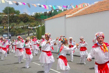 Fête pastorale à El Pinar. Fiesta de la Cruz, El Hierro, le 3 mai 2016. Cliché : M. Tapiau, IRD.