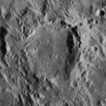 Peu d'hommages ont été rendus à Rheticus, à part l'attribution de son nom à ce cratère lunaire...
