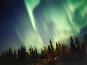 Une splendire aurore polaire