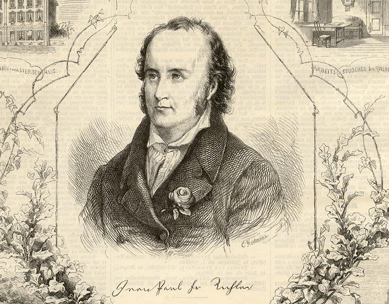 L'écrivain romantique allemand Johann Paul Friedrich Richter (1763 – 1825), mieux connu sous le pseudonyme de Jean Paul.