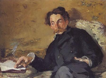 Portrait de Mallarmé peint par Manet (1876)