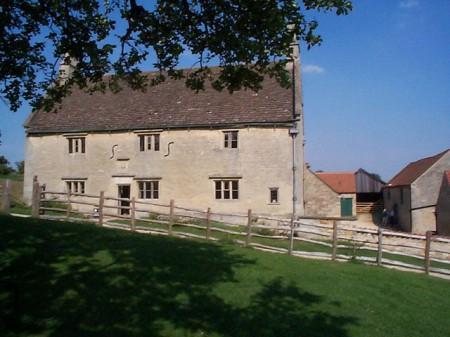 Le Manoir de Woolsthorpe dans le Lincolnshire, maison natale d'Isaac Newton