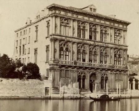 Le Palazzo Vendramin à Venise