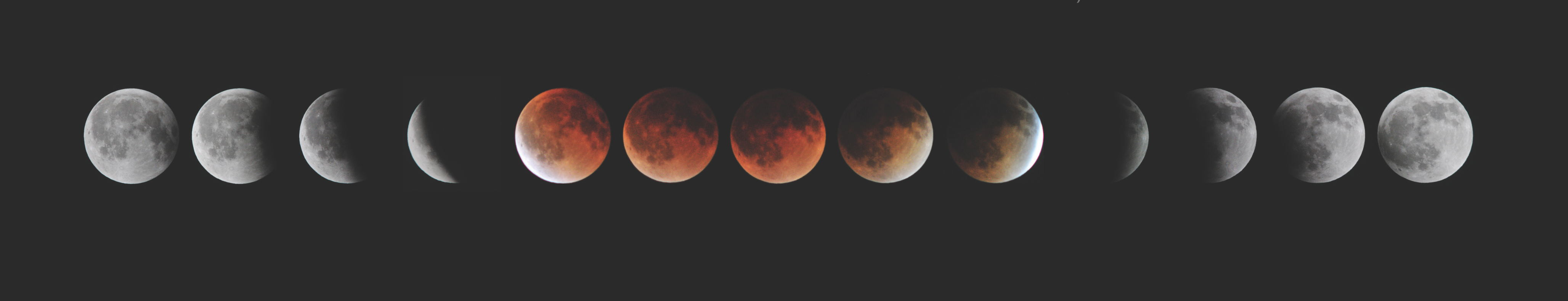 Plutarque discute les différentes explications sur les variations de couleur de la Lune lors des éclipses lunaires.