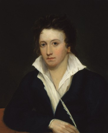 Portrait de Shelley par Alfred Clint