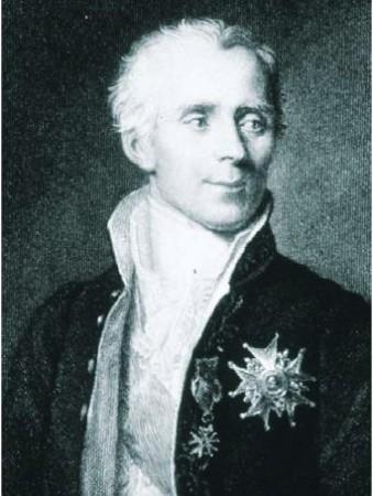 """Pierre Simon, marquis de Laplace (1749-1827) A Napoléon qui, après avoir lu son """"Exposition du système du monde"""", lui demanda """"Et dieu dans tout ça?"""", Laplace répondit """"Sire, je n'ai pas eu besoinde cette hypothèse""""."""